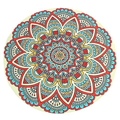 Indian Round Mandala Beach Throw Tapestry Picnic Yoga Mat Towel Bohemian Blanket