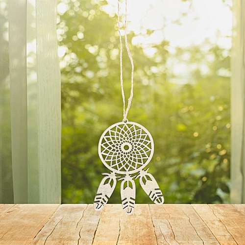 10PCS Beautiful Dream Catcher Home Wooden Car Decor