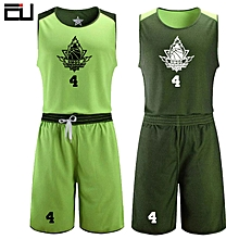 Men  039 s Customized Team And Numbers Basketball Sport Jersey Uniform-Light  Green 382d3b6aa