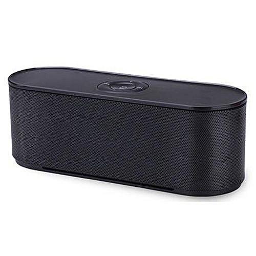 Sound Quality, Mini Portable Wireless Bluetooth Speaker S207 , BLACK