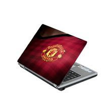 Laptop Protection Skin : Manchester Design - Red
