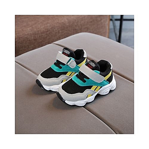 Children's Mesh Permeable Sneakers Boys' Fashionable Mesh Shoes Girls' Leisure Shoes Baby Anti-skid Shoes