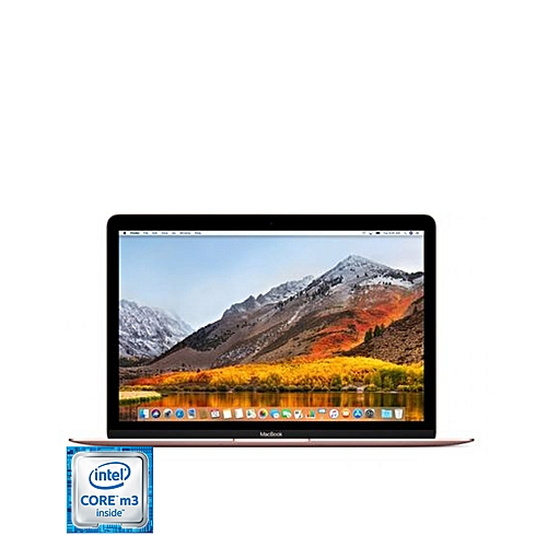 "MacBook Intel Core™ M3 1.1GHz 256GB SSD HDD 8GB RAM 12"" Retina (2304x1440) Bluetooth Mac OS 11.4 El Capitan Webcam ROSE GOLD"