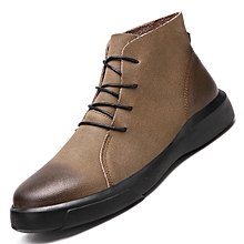 71494c61736d1 Autumn Winter High Help Men Martin Boots Men Ankle Boots Fashion Casual  Shoes Round Head Tooling