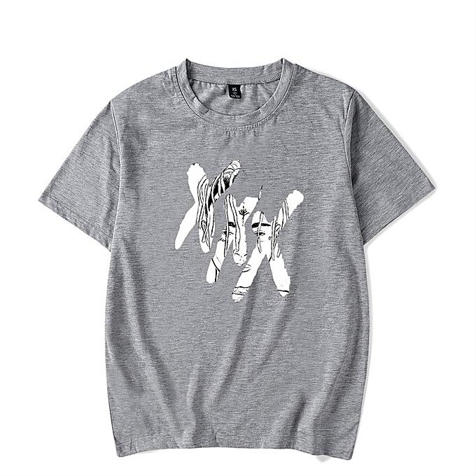 be363902 Men's T-Shirt, Unisex T-Shirt Spring Summer Short Sleeve Tee Xxxtentacion  Print