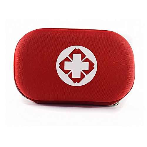 Portable Storage Bag First Aid Kit Medicine Bag Small Survival Pill Case Red