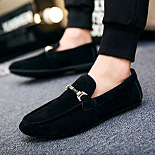 82cd0714e648 Men Casual Shoes Fashion Male Shoes High Quality Men Genuine Leather Shoes  Slip On Men Leather