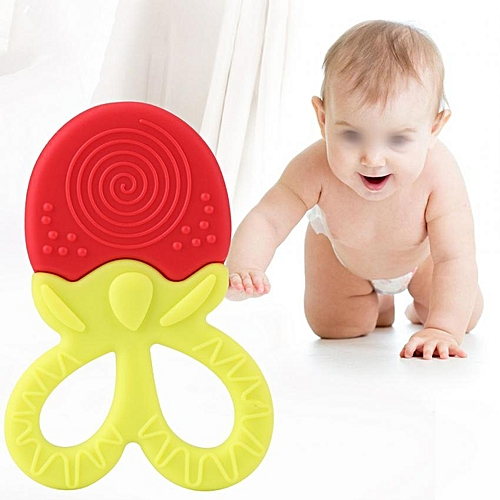 Silicone Baby Infant Toddler Teething Toys BPA Free Safe Chewing Teether