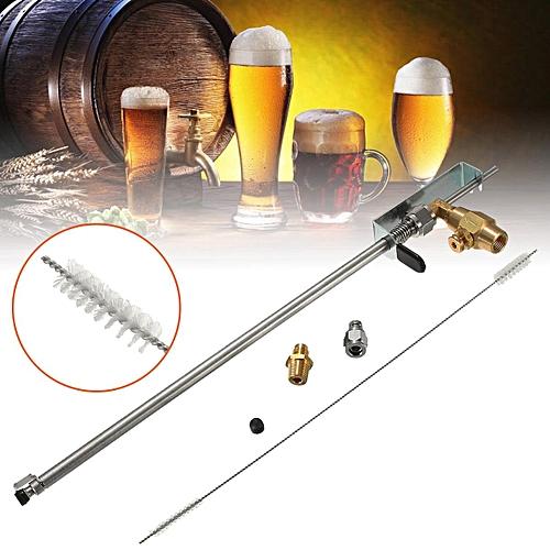 Stainless Steel Counter Pressure Beer Bottle Filler Home Brew CO2 Beer Brewing