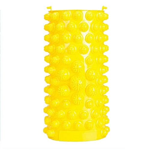 Foot Massage Pad Pain Relieve Relief Walk Stone Massager Mat Health Care Yellow