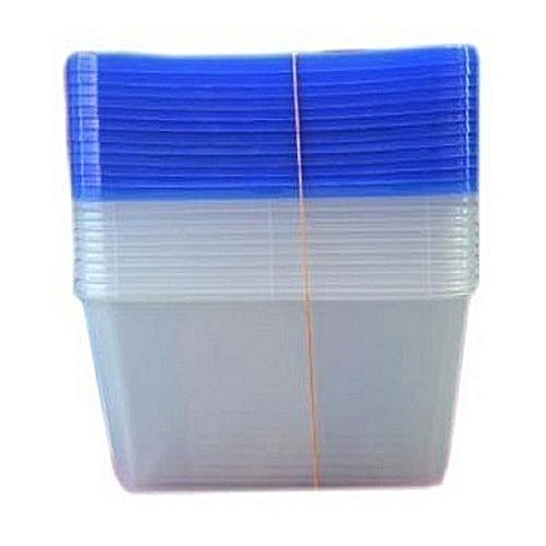 Plastic Take Away Party Plate - 12 Pieces