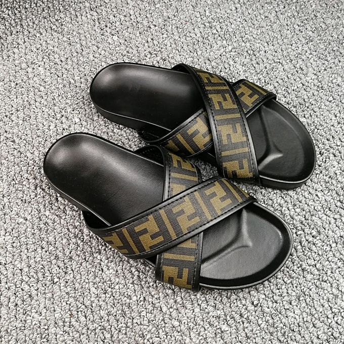2f0fbd8c626 New Leisure Male Sandals Comfortable Summer Leather Slippers Men Size 38-46  Black