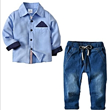 3eca66426 Explosions Children's Clothing Boys' Shirt Denim Pants