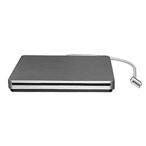 Carry-on Exterior Slot-in USB2.0 CD/DVD-RW 24X Burner CD-ROM For Windows PC Silver