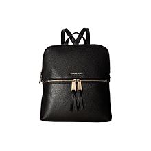 edb36a05f5e1 MICHAEL Michael Kors Rhea Zip Medium Slim Backpack - One Size - Black