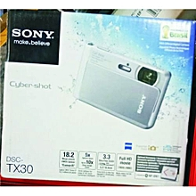 Cyber-shot DSC-TX30 Digital Camera (Silver) for sale  Nigeria