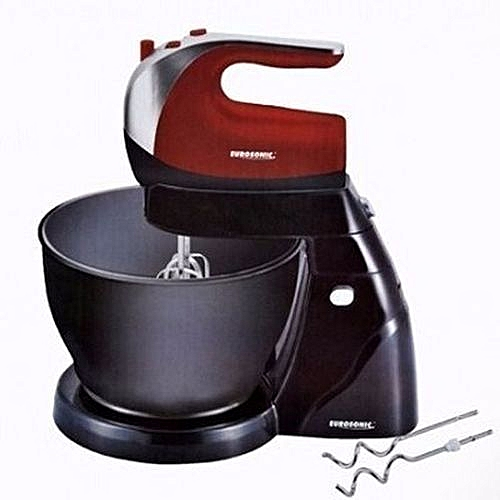 Cake Mixer With Plastic Bowl - 4L