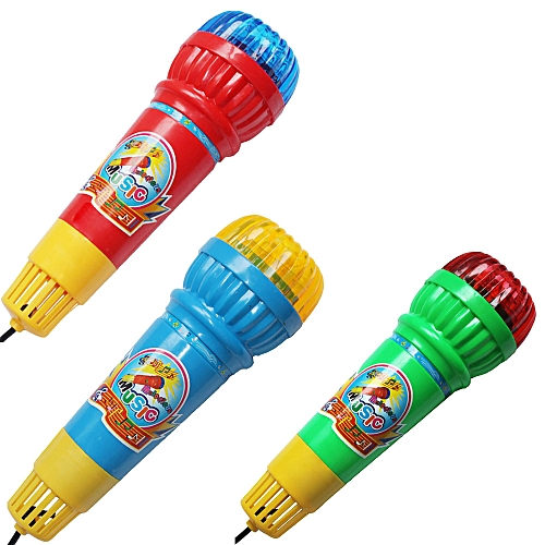 Dtrestocy Echo Microphone Mic Voice Changer Toy Gift Birthday Present Kids Party Song