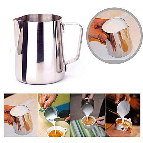 150ml Stainless Steel Frothing Pitcher Pull Flower Cup
