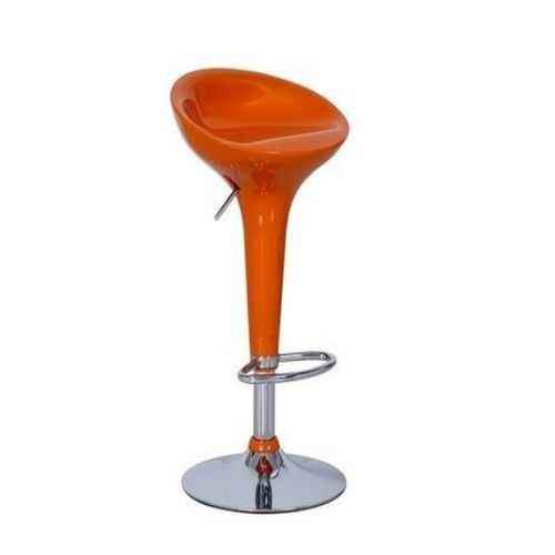 Universal Gas Lift Bar Stool Red Plastic Delivered