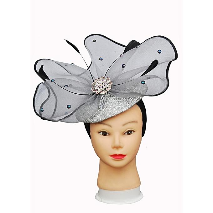 Fashion Elegant Princess Style Silver Hatinator  49191f68d55
