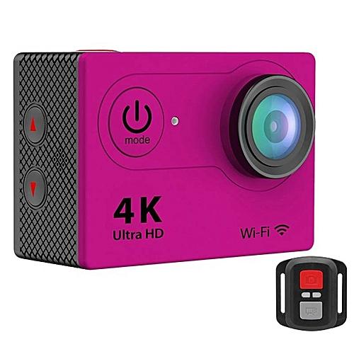 EKEN H9R 4K Action Camera Wifi Sports Cam + Remote Control Shutter (Pink)