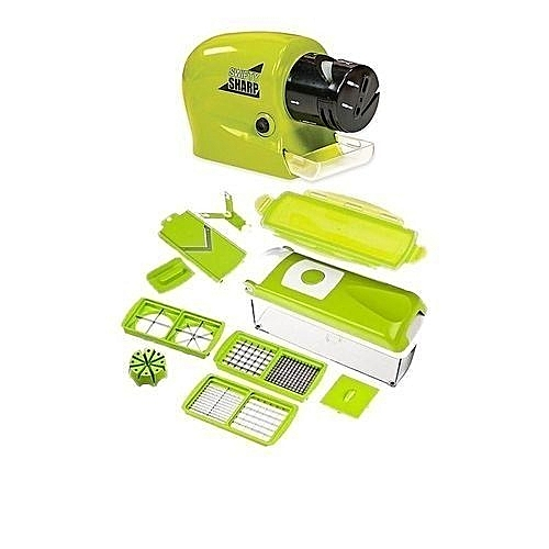 Nicer Dicer And Knife Sharpener