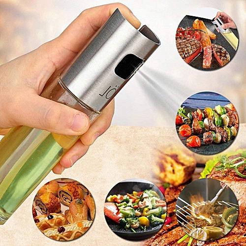 Oil Sprayer Oil Spray Oil Sprayer Dispenser Olive Oil Sprayer Stainless Steel Oil Vinegar Dispenser