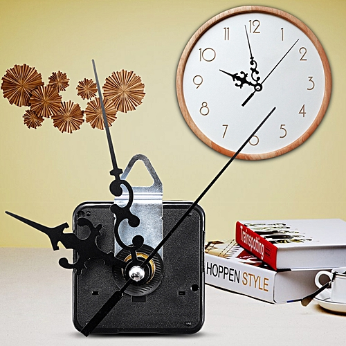 Quartz Silent Clock Movement Mechanism Module DIY Kit Hour Minute Second Hand