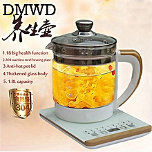 4d85ec124 DMWD Electric Kettle Eggs Slow Cooker Teapot Multifunction Porridge Stew Pot  Hot Water Boiler Timing Milk
