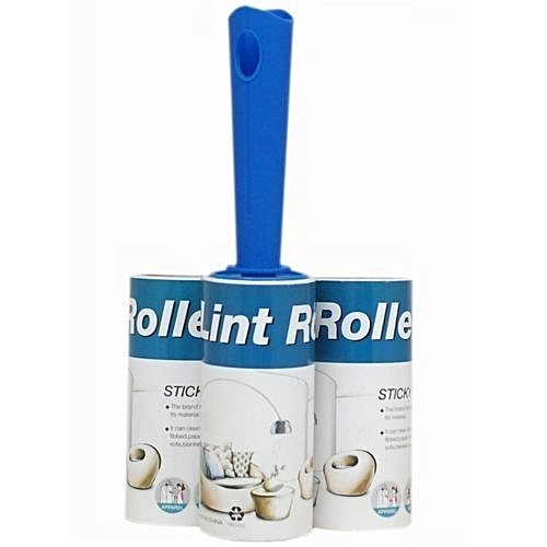 Lint Roller With 3 Refill Pack-Hair/Fur/Dust/Dirt Remover