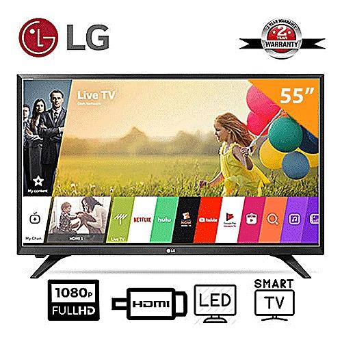 """55"""" LJ540V Smart Full HD Television"""