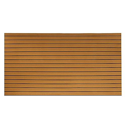 240cmx90cmx5mm Marine Flooring Faux Teak Boat Decking Sheet