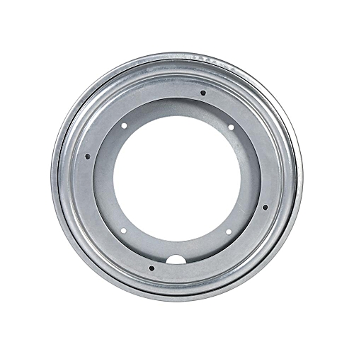 "Round Galvanized Turntable Bearing Rotating Swivel Plate (8"" Silver)"