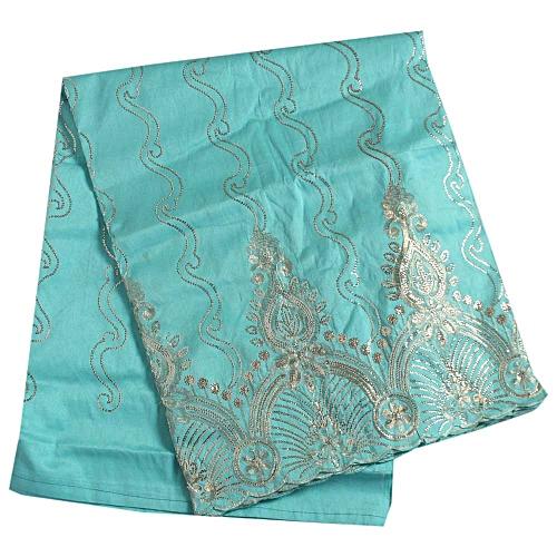 Quality George Fabric Mint Green 5 Yards