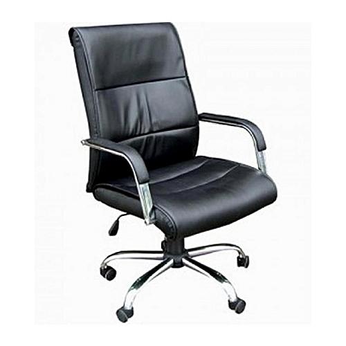 President R Swivel Office Chair - Black