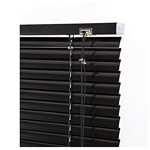 STANDARD 25mm BLACK WINDOW BLINDS