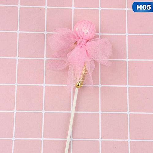 Benhongszy 2 Pcs New Crown Star Heart Cake Topper Birthday Cake Decoration Baby Shower Kids Birthday Party Wedding Favor Supplies