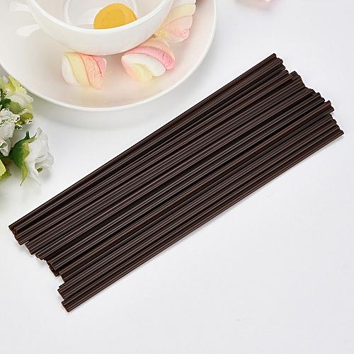 Watermalend 100 Pcs 18 CM Coffee Straw Plastic Drinking & Stirring Tea Milk Tool Supplies