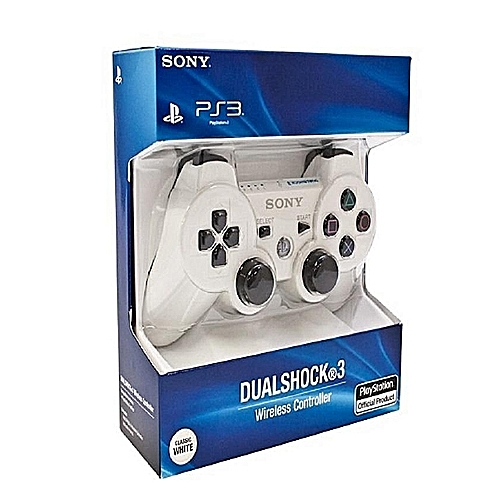 Dual Shock PS3 Wireless Pad..white