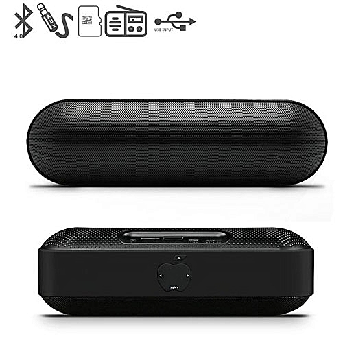 Apple Bluetooth MP3 Speaker With 3D Stereo Sound, Built-in Mic, FM Radio,  Support TF Card And USB Input