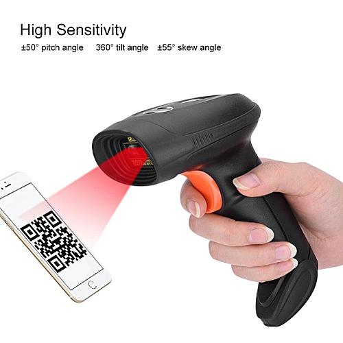 IP54 Scanner 15mil High Frequency Horizontal 53° & Vertical 39° USB QR Code Reader