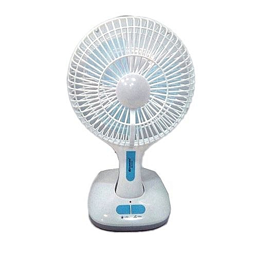 Multifunctional Rechargeable Fan With USB & LED Lighting