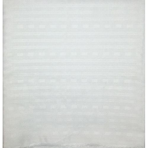 Atiku Fabric - White Colour - 5 Yards