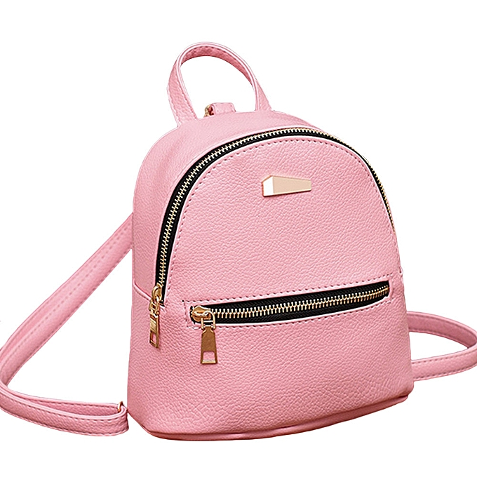 Women Leather Backpack School Rucksack College Shoulder Satchel Travel Bag bdb7e6582540b