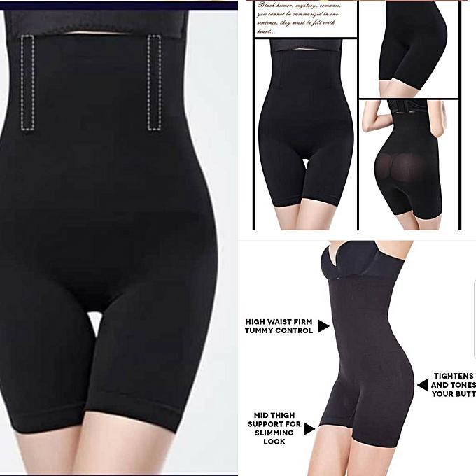 9c2bb5dbe Fashion Women High Waist Body Shape Wear sculptor girdle- Black ...