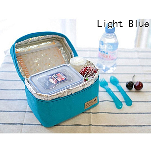 Oxford Insulated Cooler Thermal Picnic Lunch Bag Travel Tote Lunch Bag Student Lunch Bag