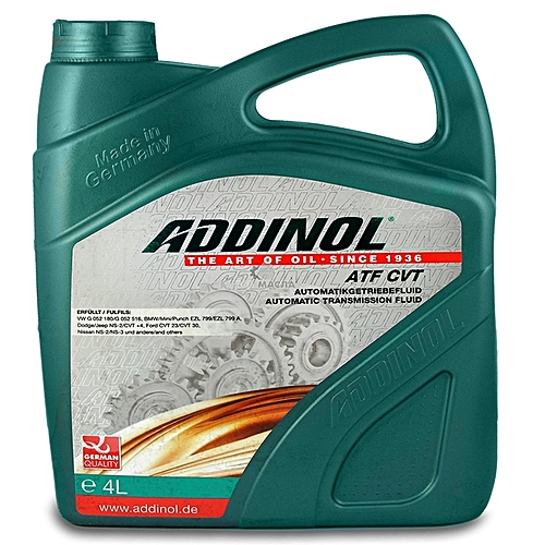 ADDINOL Addinol ATF CVT Automatic Transmission Fluid 4 Litre