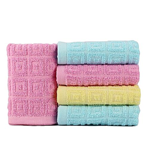3 Pieces 30*70 Cm Bath Towel Soft 100% Cotton