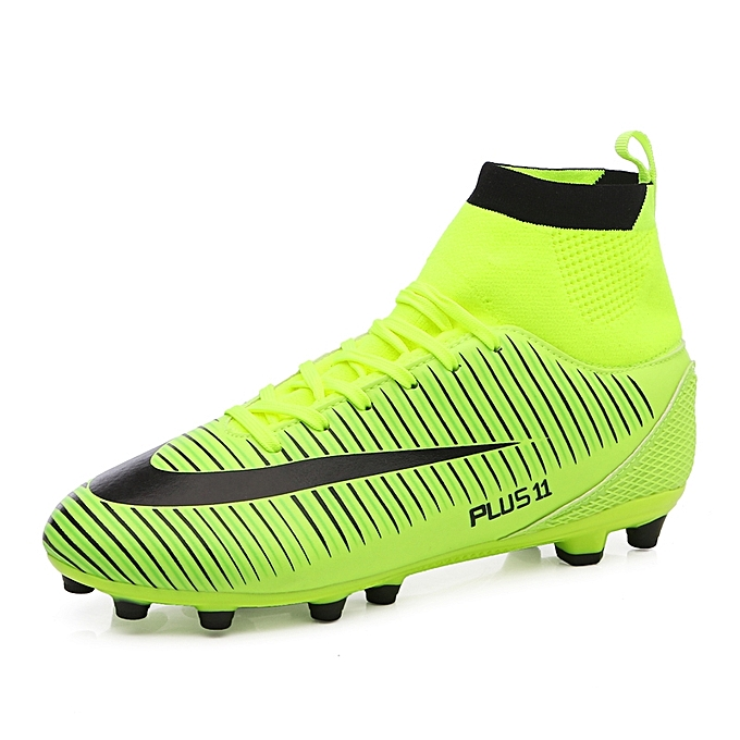 7df3a61c4ce1 Men Soccer Shoes Football Boots Soccer Cleats Boot Shoes Sports Shoes  Outdoor Indoor Soccer Training Shoes